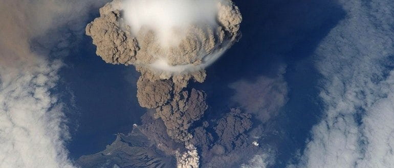 Volcanic Ash Cover