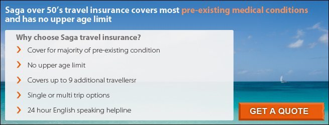 over 50 travel insurance quotes